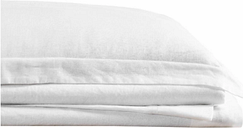 Linen Brooklyn Loom King Sheet Set, White