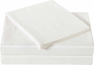 Microfiber Truly Soft Queen Sheet Set, Ivory