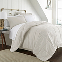 Microfiber Full 8-Piece Bed in a Bag, Ivory