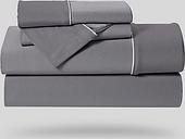 Bedgear Dri-Tec® Split Cal King Sheet Set, Gray
