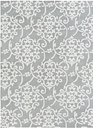 Home Accents 5' x 8' Rug, Multi