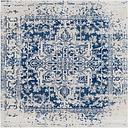 Home Accents Harput Area Rug, Dark Blue/Pale Gray/Beige