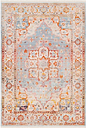 "Home Accents Ephesians 7'10"" x 10'3"" Area Rug, Multi"