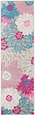 """Accessory Passion Grey 1'10"""" x 6'Runner, Ash"""