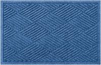 """Home Accents Aqua Shield 2' x 2'10"""" Diamonds Indoor/Outdoor Doormat, Beige"""