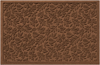 "Home Accents Aqua Shield 1'11"" x 3' Fall Day Indoor/Outdoor Doormat, Brown"