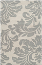 Home Accents Athena Paisley 5' X 8' Area Rug, Gray