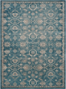 "Home Accents SOFIA 4' x 5'7"" Rug, Blue/Beige"