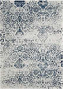 Home Accents Damask 5' x 7' Rug, Ivory/Navy