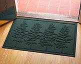 Home Accents 2' x 3' Fir Forest Indoor/Outdoor Doormat, Evergreen