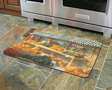 """Home Accents 1'10"""" x 2'7"""" Autumn at Berry Doormat, Multi"""