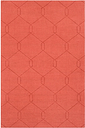 Home Accents Ashlee 2' x 3' Area Rug, Burnt Orange