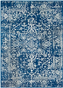 Home Accents 3' x 5' Rug, Dark Blue