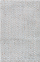 """Home Accents Jute Woven 3' 6"""" x 5' 6"""" Area Rug, Gray"""
