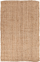 "Home Accents Jute Woven 3' 6"" x 5' 6"" Area Rug, Wheat"