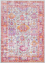 """Home Accents Antioch 3' 11"""" x 5' 11"""" Rug, Multi"""