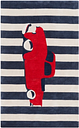 """Home Accents Young Life 3'6"""" x 5'6"""" Rug, Red/White/Blue"""