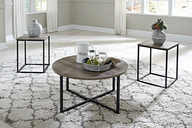Wadeworth Table (Set of 3), Two-tone