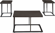 Airdon Table (Set of 3), Bronze Finish