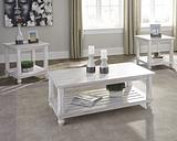 Cloudhurst Table (Set of 3), White