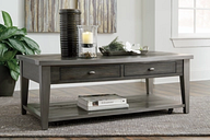 Branbury Coffee Table, Grayish Brown