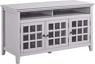 Largo Media Cabinet, Gray