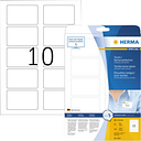Herma 4514 Labels (A4) 80 x 50 mm Acetate silk White 200 pc(s) Removable Name stickers