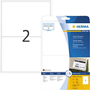 Herma 4519 Labels (A4) 199.6 x 143.5 mm Acetate silk White 40 pc(s) Removable Name stickers