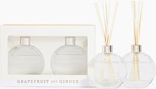 Grapefruit & Ginger Twin Diffuser Set