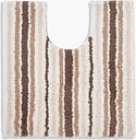 Super Soft Striped Quick Dry Pedestal Mat