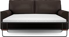 Nantucket Large Sofa Bed (Sprung Mattress)