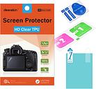 Deerekin HD Soft TPU Screen Protector for Canon Powershot SX740 SX730 SX720 SX710 SX620 SX610 SX540 HS Camera