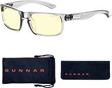 Gunnar Optiks Blue Light Blocking Gaming and Computer Eyewear/ Enigma- Amber Tint, Smoke Frame - Smoke Frame/Amber Lens|ENI-06701