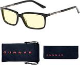 GUNNAR Gaming & Computer Glasses - Haus, Onyx, Amber Tint HAU-00101