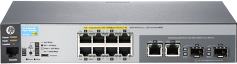 HPE 2530-8G-PoE+ Ethernet Switch|J9774A#ABA