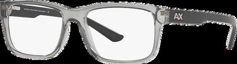 Armani Exchange Eyeglasses 0AX3016 - Silver/gunmetal/grey Size 53