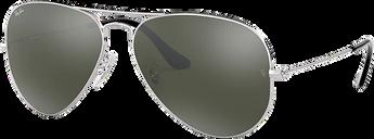 Ray-Ban Sunglasses 0RB3025 - Silver/gunmetal/grey Size 8641124012284271098