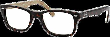 Ray-Ban Eyeglasses 0RX5228 - Tortoise Size 55