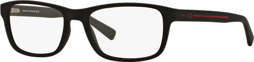 Armani Exchange Eyeglasses 0AX3021 - Black Size 54