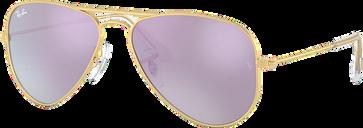Ray-Ban Jr Sunglasses 0RJ9506S - Gold Size 50