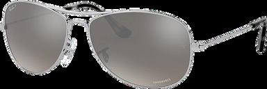 Ray-Ban Sunglasses 0RB3562 - Silver/gunmetal/grey Size 59