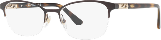 Vogue Eyeglasses 0VO4067 - Brown/tan Size 53