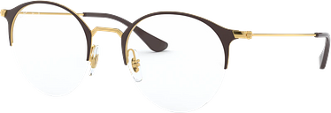 Ray-Ban Eyeglasses 0RX3578V - Gold Size 48