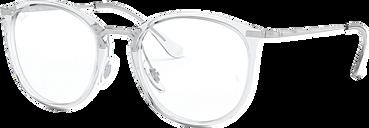 Ray-Ban Eyeglasses 0RX7140 - Clear/white Size 51