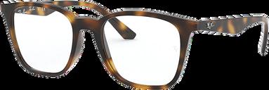 Ray-Ban Eyeglasses 0RX7177 - Brown/tan Size 51