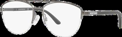 Emporio Armani Eyeglasses 0EA1119 - Silver/gunmetal/grey Size 54