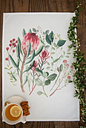 botanicalboysuk - Fynbos Tea Towel