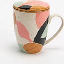 Taza con Filtro y Tapa Art
