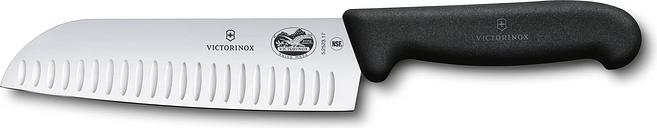 Fibrox Santokumesser (schwarz, 17 cm)