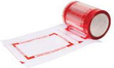 Tenzalopes Documents Enclosed Pouch Tape, 144 X 200MM Pouches, 330 Pouches/Roll